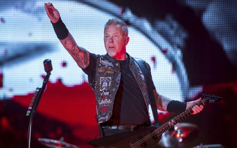 Metallica впервые исполнили Hardwired