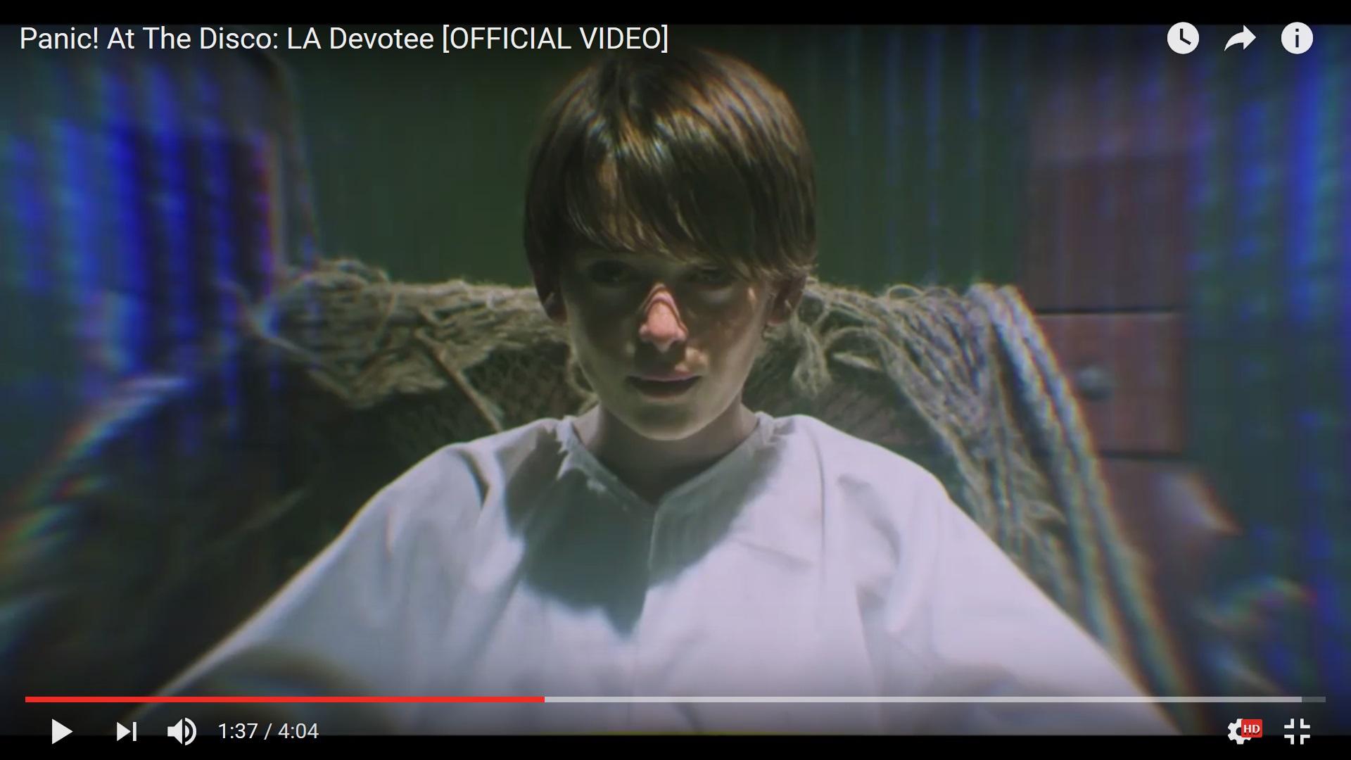 Panic! At The Disco выпустили новое видео на песню LA Devotee