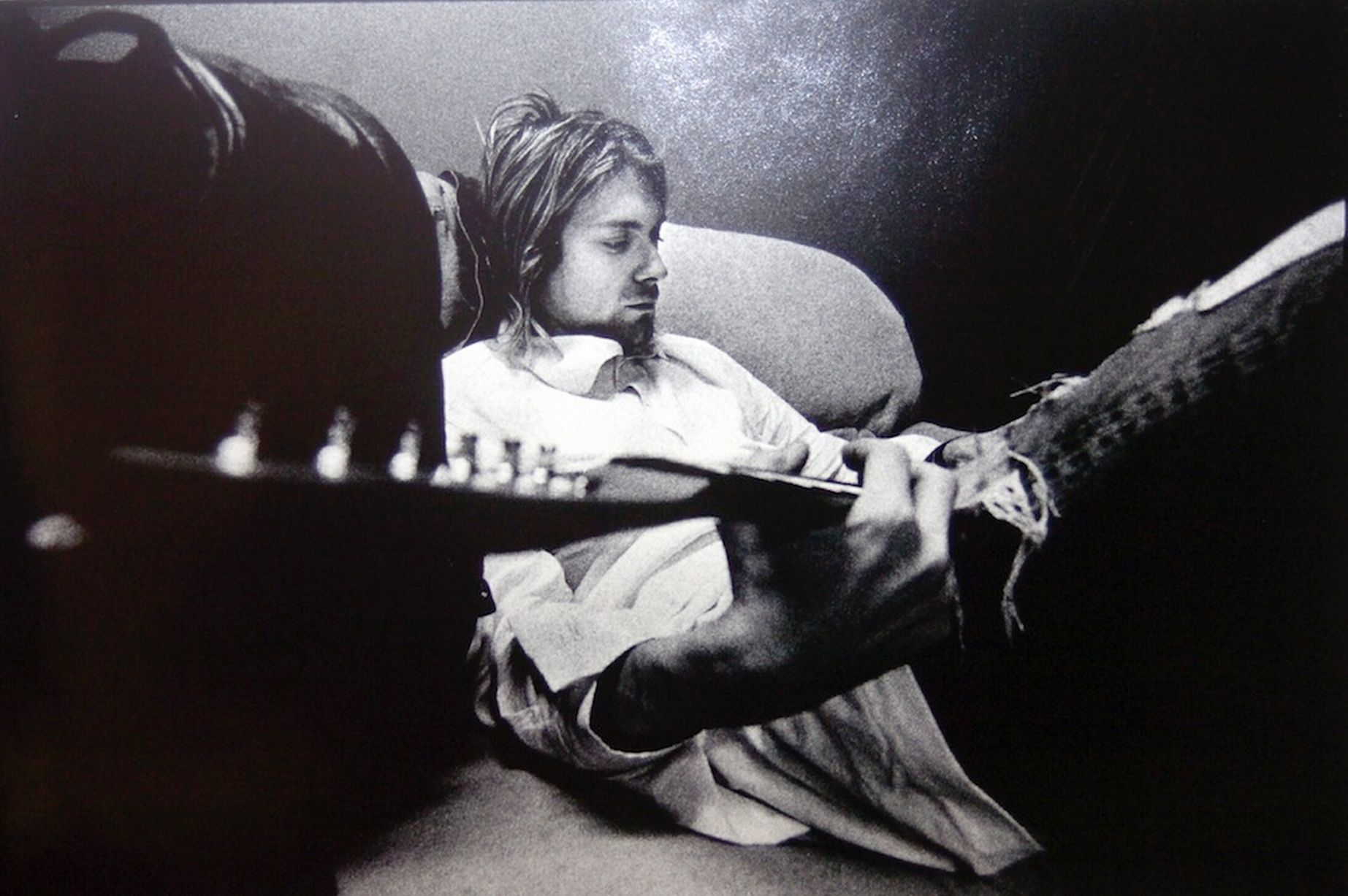 kurt cobain rare photo