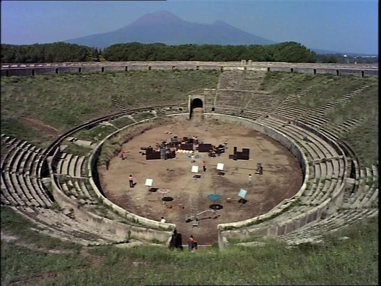 самые неожиданные площадки для рок-концертов, Пинк Флойд в Помпеях