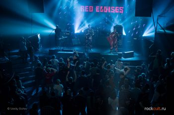Фотоотчет | Red Elvises в Питере | Aurora Concert Hall | 08.09.2016