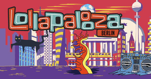 фестиваль, музыка, рок, Европа, лето, оупен-эйр, Lollapalooze, Lolla, Berlin, Берлин, Германия, лайфхак