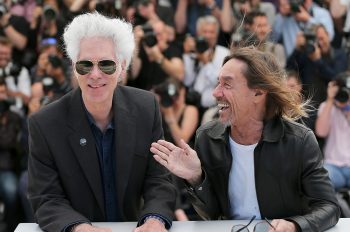 """CANNES, FRANCE - MAY 19:  Jim Jarmusch and Iggy Pop attends the """"Gimme Danger"""" photocall during the 69th annual Cannes Film Festival at Palais des Festivals on May 19, 2016 in Cannes, France.  (Photo by Alex B. Huckle/Getty Images)"""