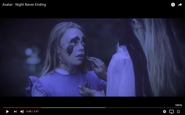 Avatar представили видео Night Never Ending