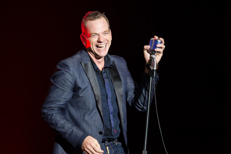 Репортаж Garou в Москве Crocus City Hall 10.10.2016