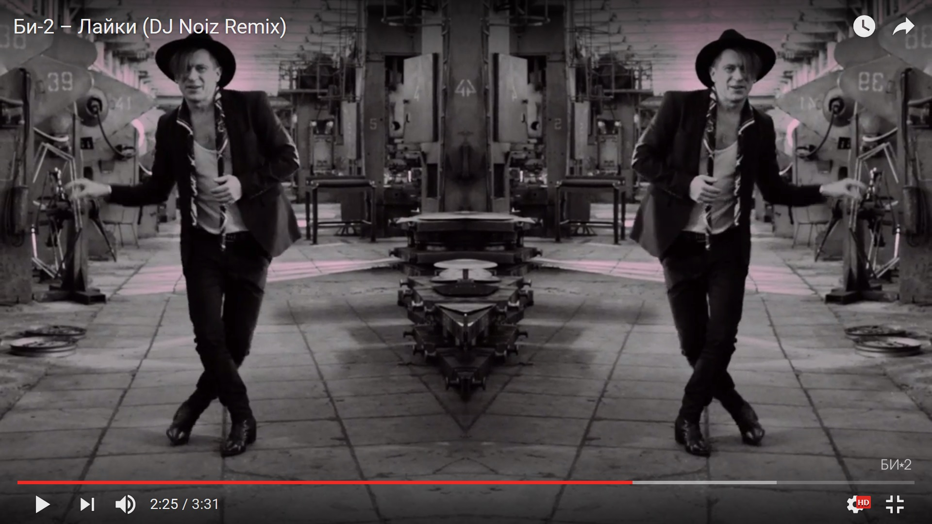 Би-2 представили танцевальную версию клипа Лайки