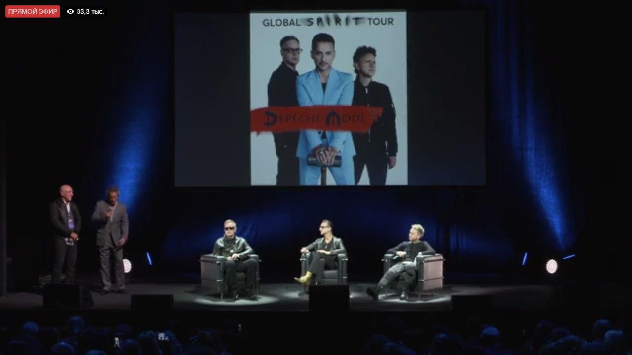 Depeche Mode объявили города и даты Global Spirit Tour