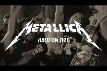 metallica halo on fire видео