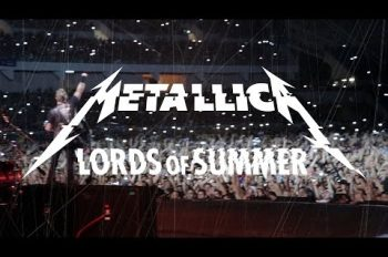 metallica lords of summer видео