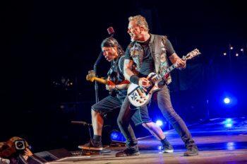 Metallica концерт в Лондоне Hardwired