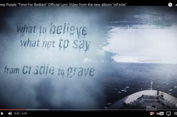 Deep Purple Time For Bedlam Official Lyric Video