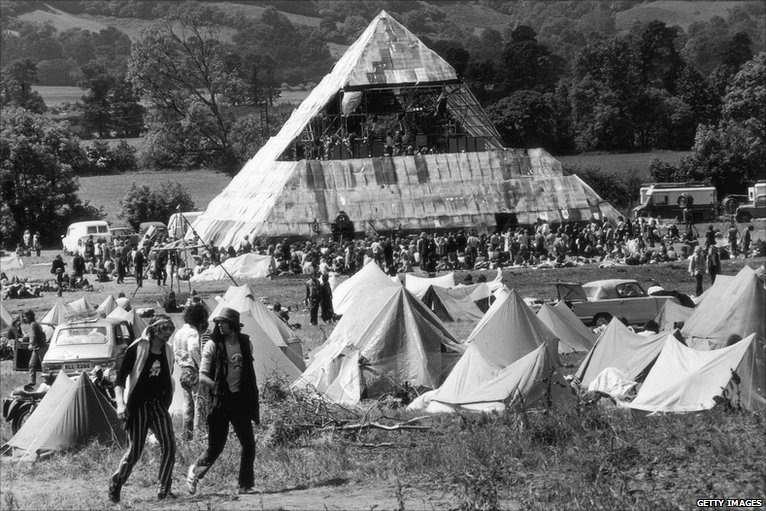 early pyramid stage glastonbury