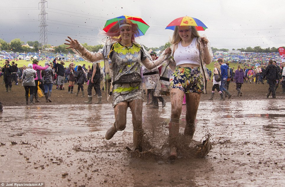 mud glastonbury