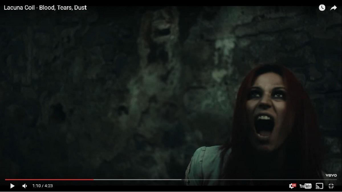 Lacuna Coil выпустили клип на песню Blood, Tears, Dust