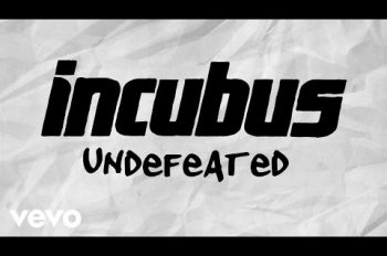 Incubus - Undefeated (Lyric Video)