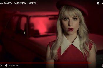 Paramore Told You So клип