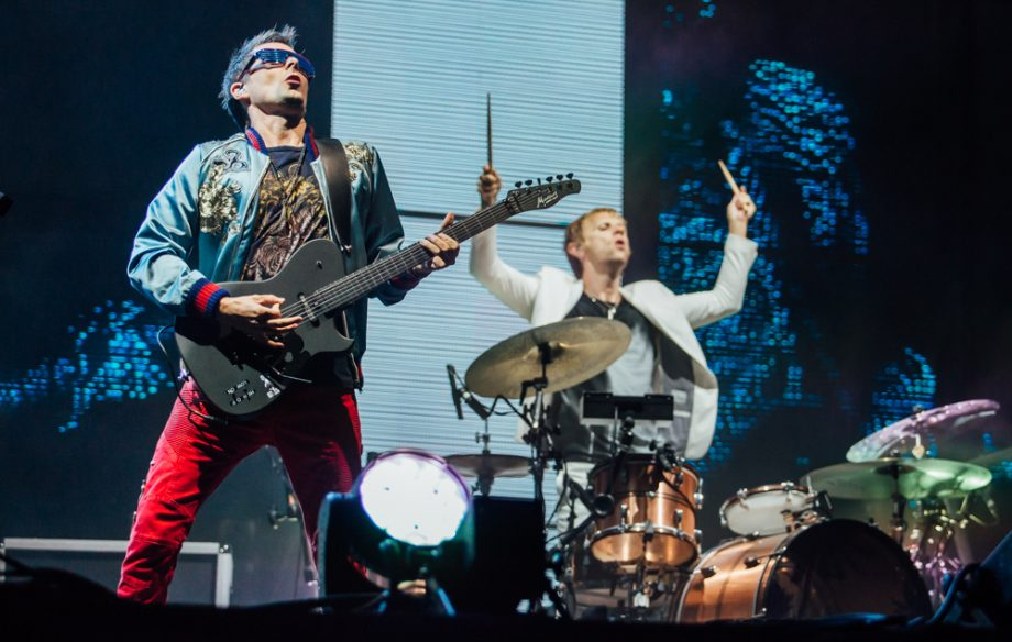 Брайан Джонсон присоединился к Muse на фестивале Reading