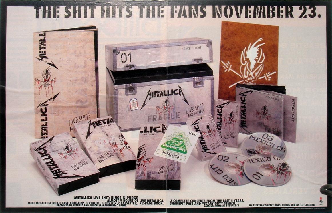 """Сектор """"Приз"""" на барабане: Metallica - Live Shit: Binge & Purge - Роккульт"""