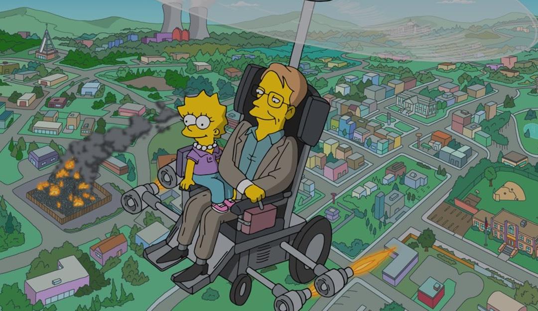 Симпсоны почтили память Стивена Хокинга