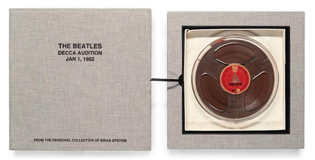 Демо-запись ранних The Beatles выставят на торги.